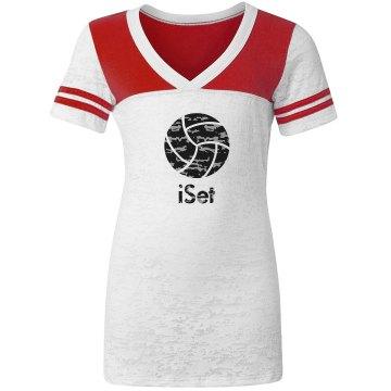 iSet Volleyball Fan