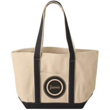 Jamie Black Circle Bag