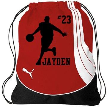 Jayden's Basketball Gear
