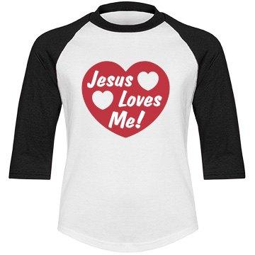 Jesus Love Me Big Heart