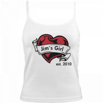 Jim's Girlfriend