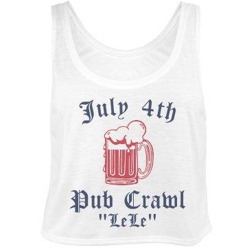 July 4th Pub Crawl