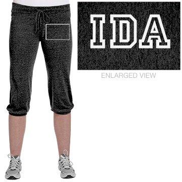 Junior IDA Cropped Pants