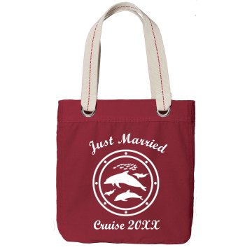 Just Married Cruise Bag