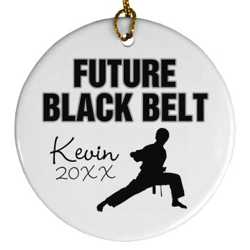 Karate Ornament