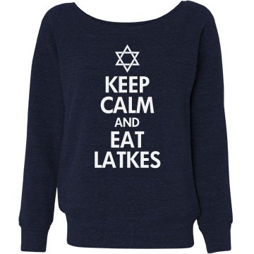 Keep Calm & Eat Latkes