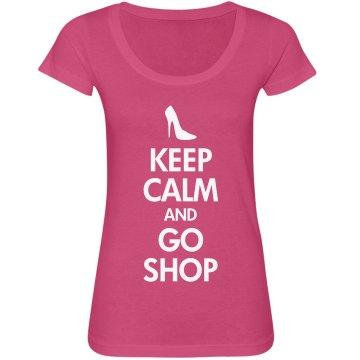 Keep Calm & Go Shop