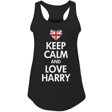 Keep Calm & Love Harry