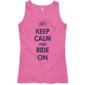 Keep Calm & Ride On
