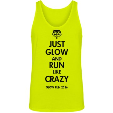 Keep Calm Glow Run Design