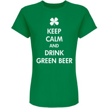 Keep Calm Green Beer
