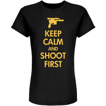 Keep Calm Solo Shot First