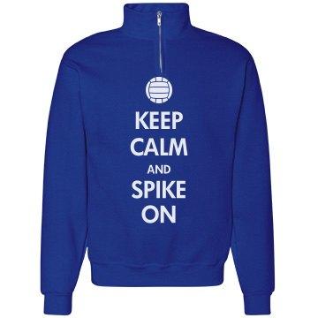 Keep Calm Spike On
