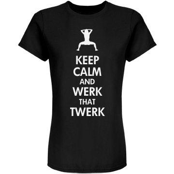 Keep Calm Twerk