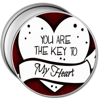 Key to my heart tin mariedesignz - Small tin girl ...