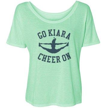 Kiara's Cheer Mom