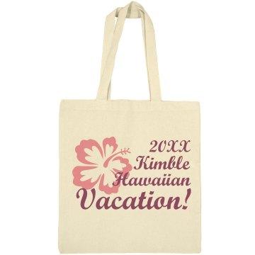 Kimble Hawaii Vacation