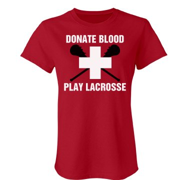 Lacrosse Donate Blood