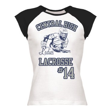 Ladies Lacrosse Tee