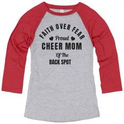 Back Spot Cheer Mom Faith