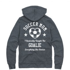 Mom Taught Goalie Everything