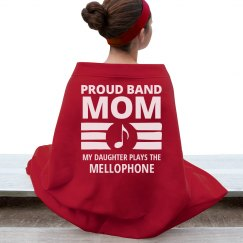 Mellophone Band Mom's Daughter