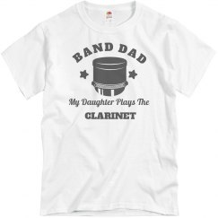 Dad Of The Clarinet Player