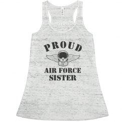 Cute Air Force Sister Pride