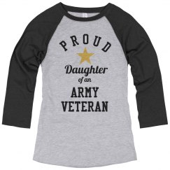Proud Daughter Of An Army Vet