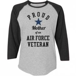 Proud Air Force Veteran Mother