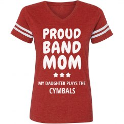 Proud Cymbals Band Mom