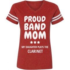 Proud Clarinet Band Mom