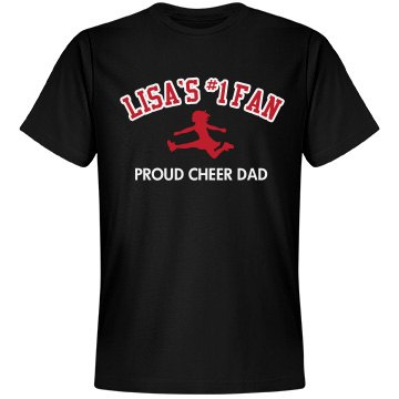 Lisa's Proud Cheer Dad