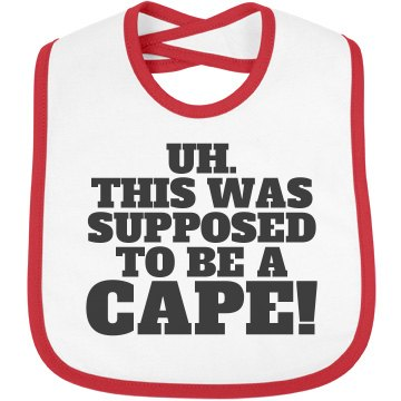 Little Baby's Cape Confusion