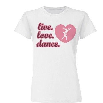 Live Love Dance Heart
