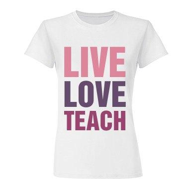 Live Love Teach