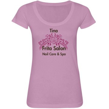 Long Sleeve Nail Spa Tee