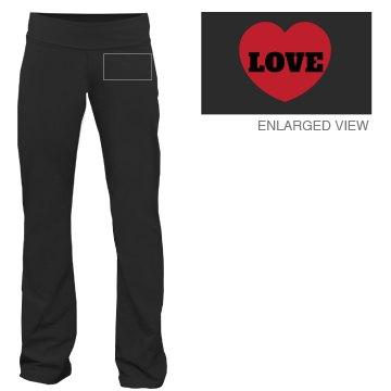 Love Heart Lounge Pants