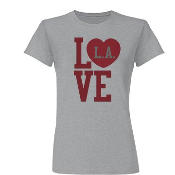 Love LA Heart Tee