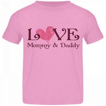 Love Mom & Dad