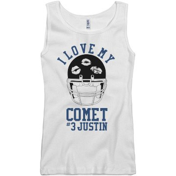 Love My Comet Football