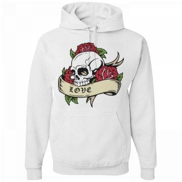Love Skull Hoodie