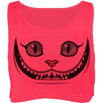 Mad Cheshire Cat Face