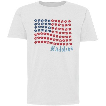 Madeline USA Flower Flag