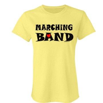 Marching Band Small Heart