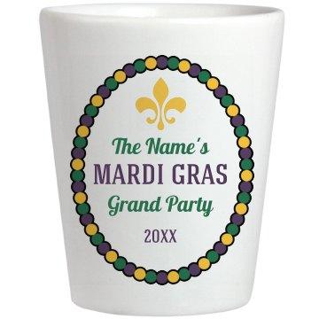 Mardi Gras Shot