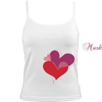 Mark's Love Heart Cami