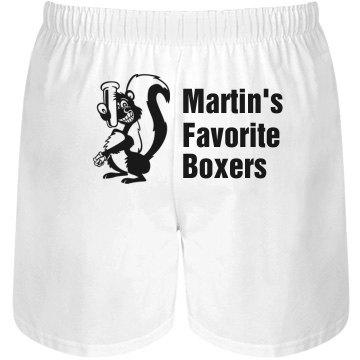 Martin's Favorite Boxers