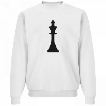 Matching King Chess Piece Guy