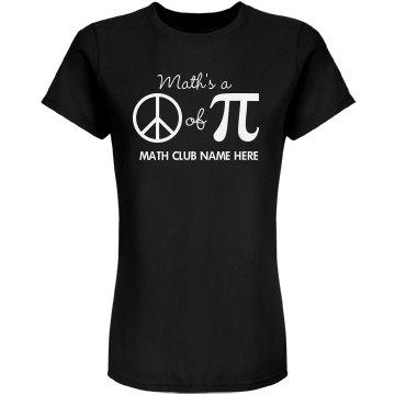 Math Club Graphic Tee